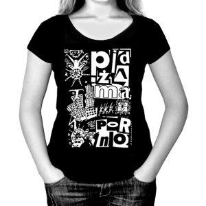 koszulka pidżama porno futurista
